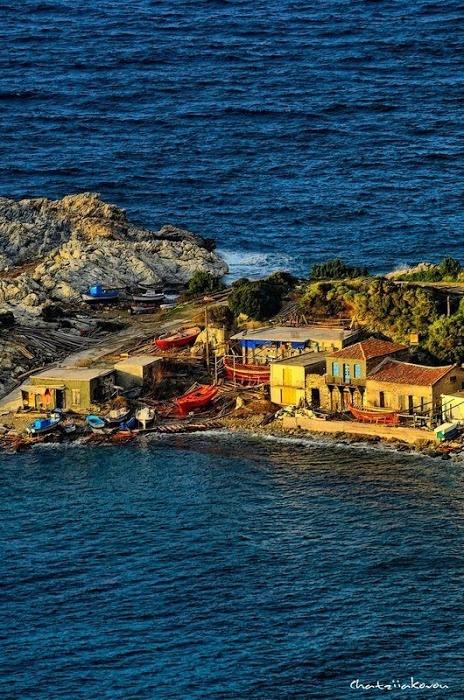 Samos, Griekenland - bewri