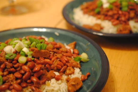 cajun red beans and rice. | (d)inner thoughts. | Pinterest