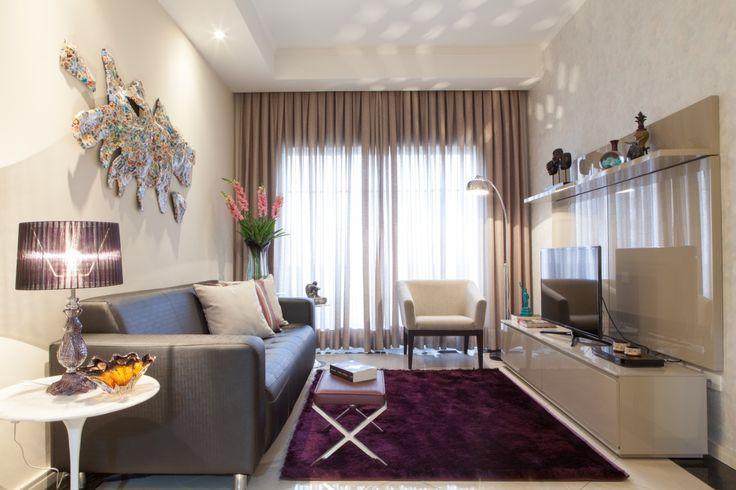 Apartamento pequeno: boas soluções de decoração em apenas 55 m² - Casa