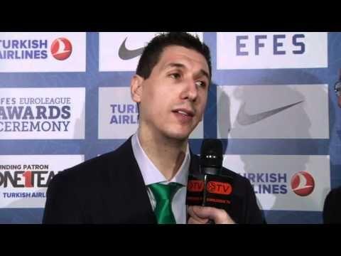 Awards Interview: Dimitris Diamantidis, All-Euroleague First Team