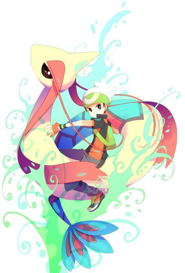 Milotic and its Trainer