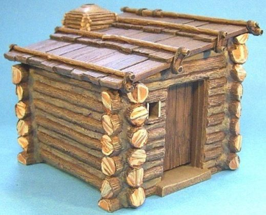 Diorama Accessories Ranger Hut - Made by John Jenkins Designs Military Miniatures and Models. Factory made, hand assembled, painted and boxed in a padded decorative box. Excellent gift for the enthusiast.
