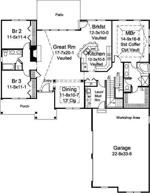 280 best images about floor plans on pinterest european for Rear access home designs
