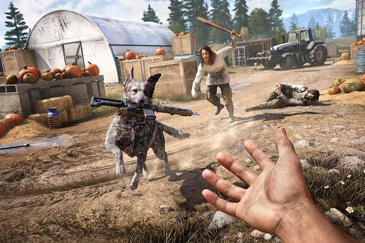 E3 2017 hands-on: Wreck havoc in Far Cry 5s small town America   Long story short Far Cry 3is one of my favorite games of all time. Far Cry 4 and Fry Cry Primal?Not so much so you can easily see why Far Cry 5 really piqued my interest after Ubisoft released the games first trailer. Sinceit is the first time the franchise has been set in America and the main antagonist isa group of religious extremist who has taken over your hometown the premise alone was enough to sell me. Coming into this…
