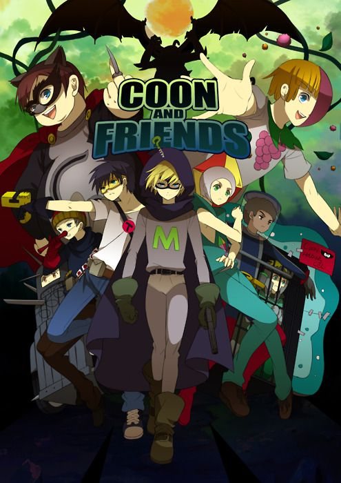 coon and friends 2 by alexita2105 on deviantART