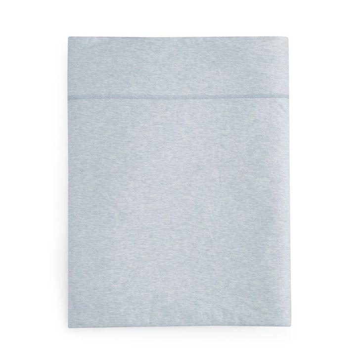 Calvin Klein Modern Cotton Jersey Body Solid Flat Sheet, Full - 100% Exclusive