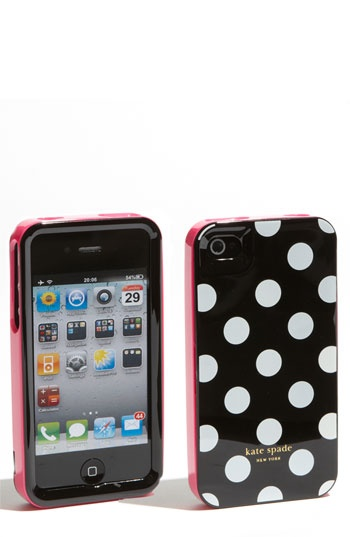 kate spade new york rigid iPhone 4 & 4S cover: Iphone Cases, Iphone 4S, Spade Iphone, Kate Spade, Rigid Iphone, Dot Iphone4