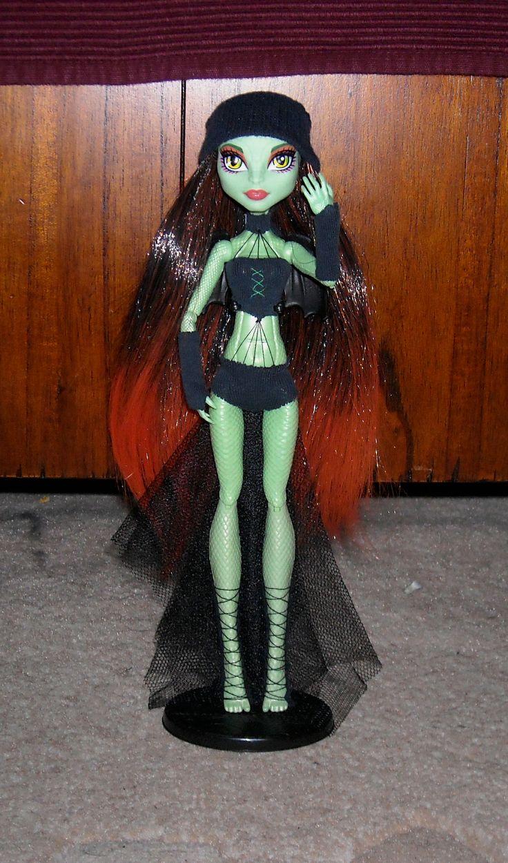 self made fire-hair wig