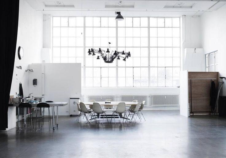 The Lab studio space in Copenhagen. #interior #letriptyque by le_triptyque