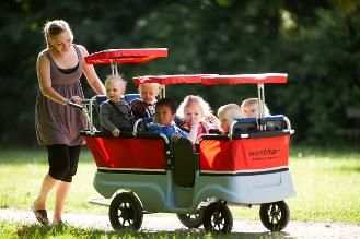 Winther Turtle Kiddy Bus & Stroller 6-seater