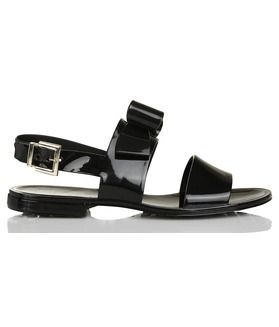Sandales plates NOIR  by RED VALENTINO
