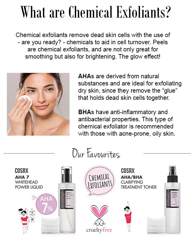 Don T Be Scared Of Chemical Exfoliants We Promise They Are Not As