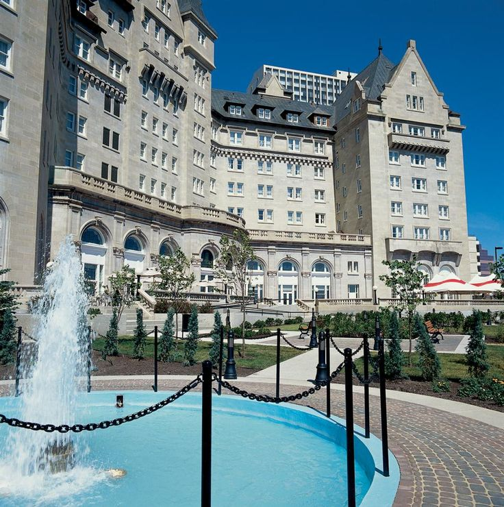 The Fairmont Hotel Macdonald in Edmonton, Alberta - Where we get to go on special occasions, or for a delightful party every once in a while!