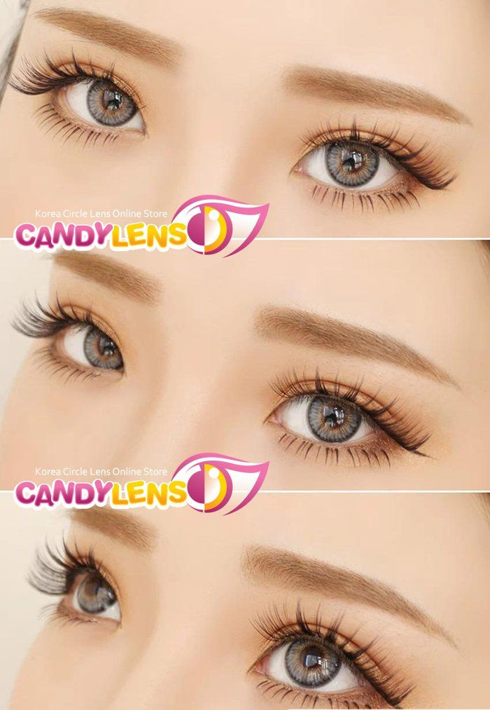 EOS Rainshower Gray - Circle Lenses