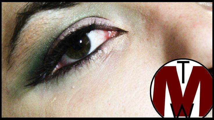 Green & Purple Smokey Eye MAKE UP TUTORIAL | The M Wor(l)d