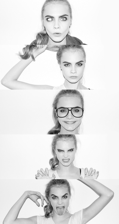 Cara Delevingne - Girl Crush