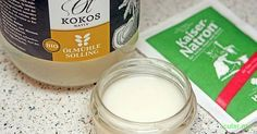 Kokosöl-Deocreme aus drei Zutaten: schnell, wirksam und gesund