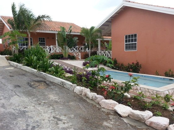 the new area of Curinjo holiday resort almost finished , feb 2013