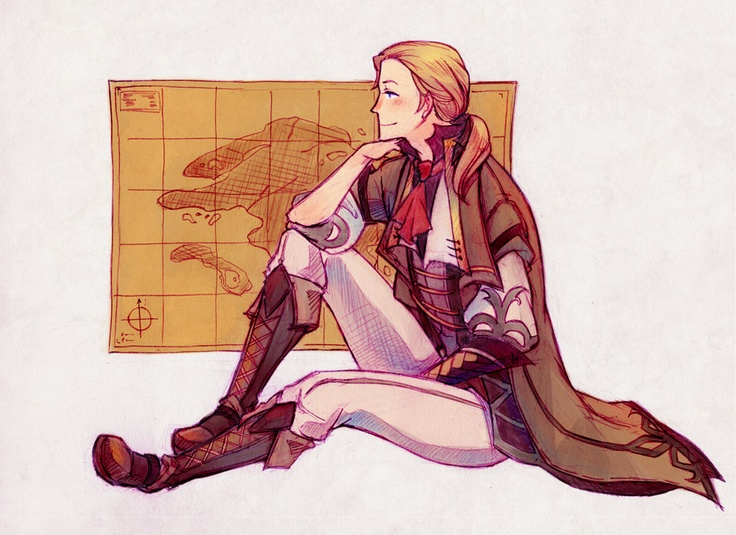 The Cartographer by ~fishnbacon on deviantART