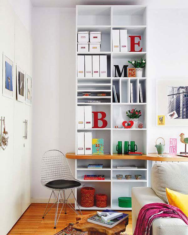 Decoração de Apartamentos Pequenos (22 Truques e 72 Fotos) | CasaBemFeita.com