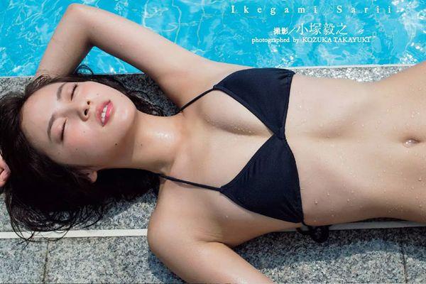 池上紗理依のワキフェチ画像