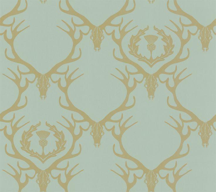 wallpaper deer damask - photo #16