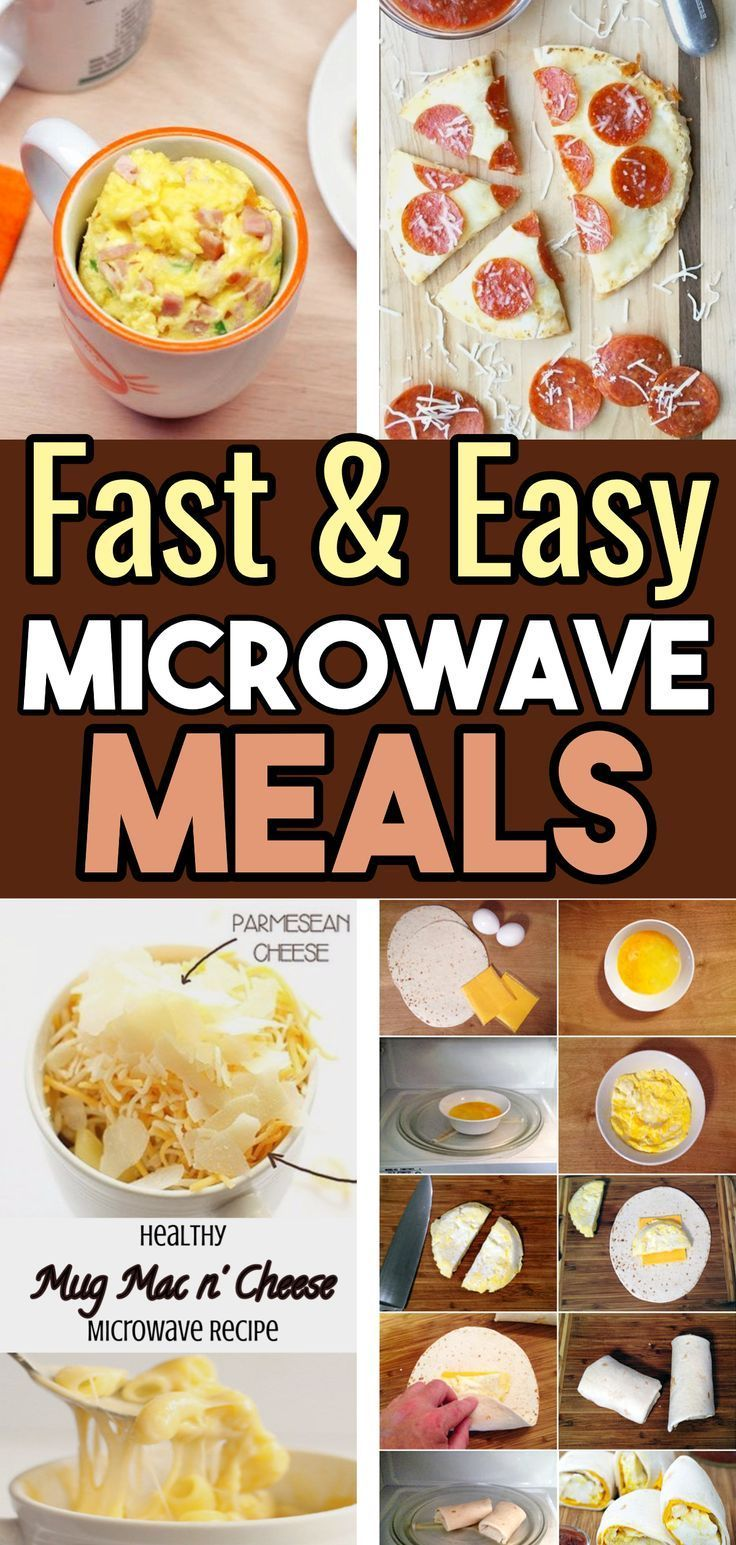 Microwave Meals Healthy Meals You Can Cook In The Microwave These Healthy Microwave Meals Are Healthy Microwave Meals Healthy Snacks Easy Fast Healthy Meals