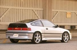 One of my all-time favorite cars, the Honda CR-X.
