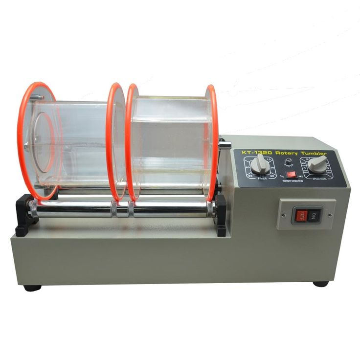173.86$  Watch here - http://alipgq.worldwells.pw/go.php?t=32630685756 - 11kg capacity Two barrels Rotary Tumbler Jewelry polishing machine Surface finishing tools 220V  variable speed 173.86$