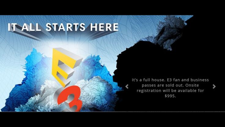 All E3 2017 Press Conference Dates & Time - Sony, MS, PC Show and More