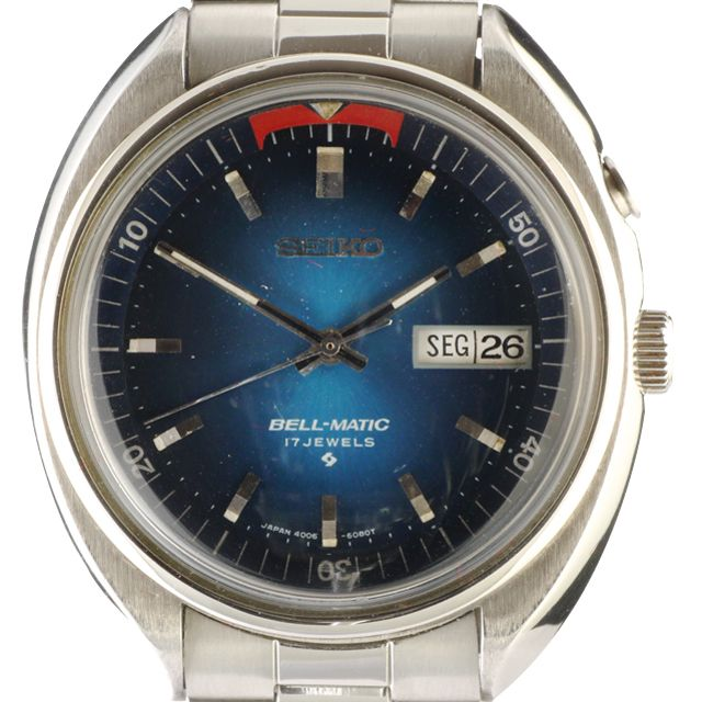 """The Bell-Matic was introduced in November 1966 and was the world's first automatic alarm watch with a central rotor.  Seiko mechanical watches are highly prized by collectors.  The company was founded in 1881 in Tokyo, Japan. Eleven years later, in 1892, Seiko began to produce clocks under the name Seikosha.  Seiko is a Japanese word meaning """"exquisite"""" or success. The first watches produced under the Seiko brand appeared in 1924. In 1969, Seiko introduced the Astron, the world's first…"""