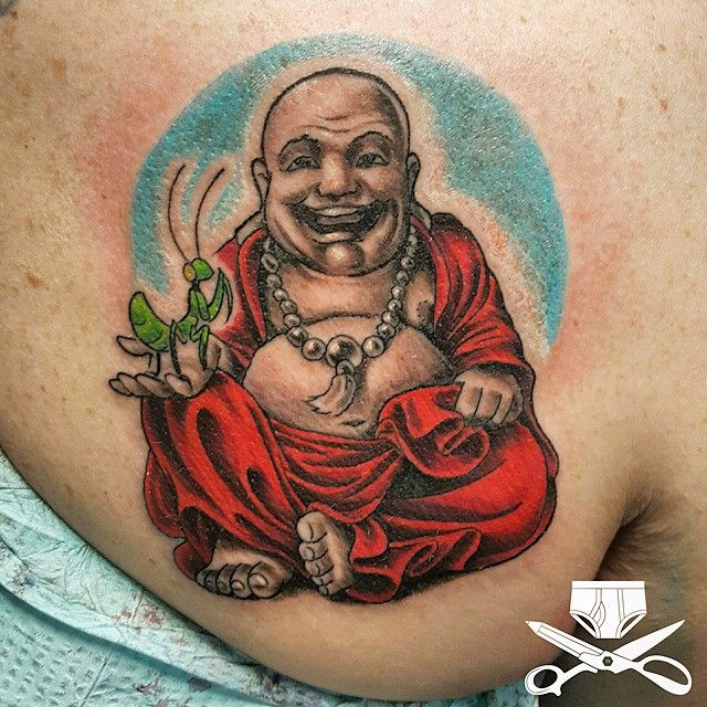1000 images about tattoos on pinterest for Happy buddha tattoo