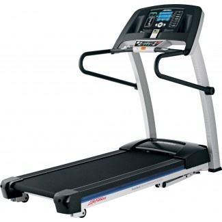 """""""It's Really Just a VERY Large iPhone Docking Station""""    Life Fitness F1 Smart Folding Treadmill  Packed with innovative features ensures you'll have a fun and thorough workout at home.  It's built with FlexDeck® shock-absorption system, which reduces impact to joints by nearly 30% compared to ordinary treadmills, an efficient Energy Saver button, and the F1 Smart console with 7 pre-programmed workouts and unlimited workouts through Life Fitness Virtual Trainer website and USB port."""