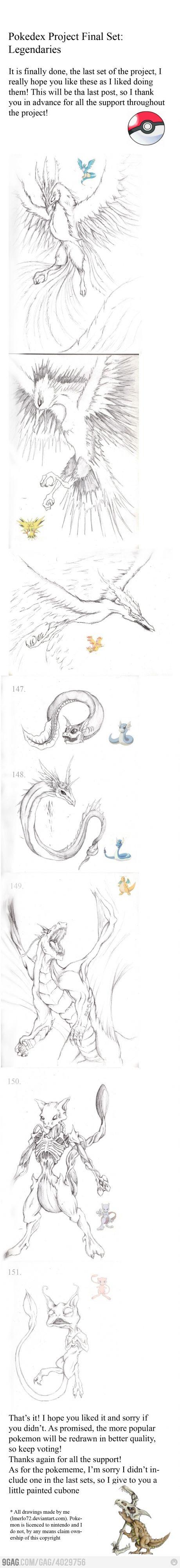 Pokemon Reimagined : Legendaries