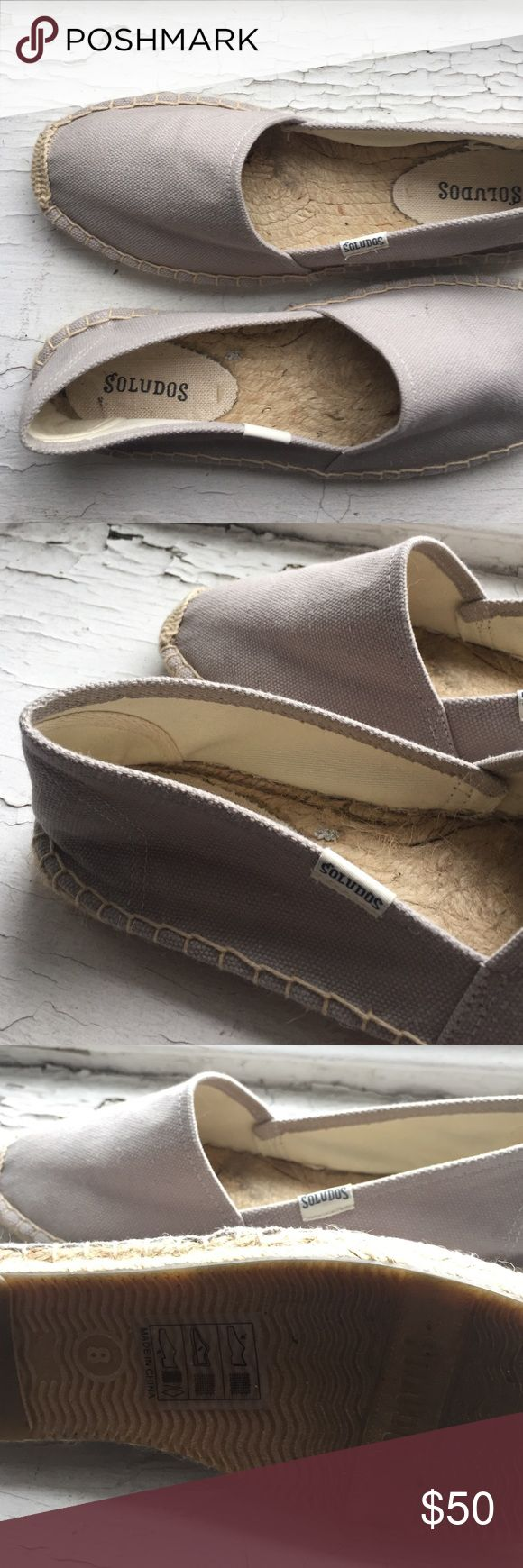 Grey espadrilles Nice Soludos Shoes Espadrilles
