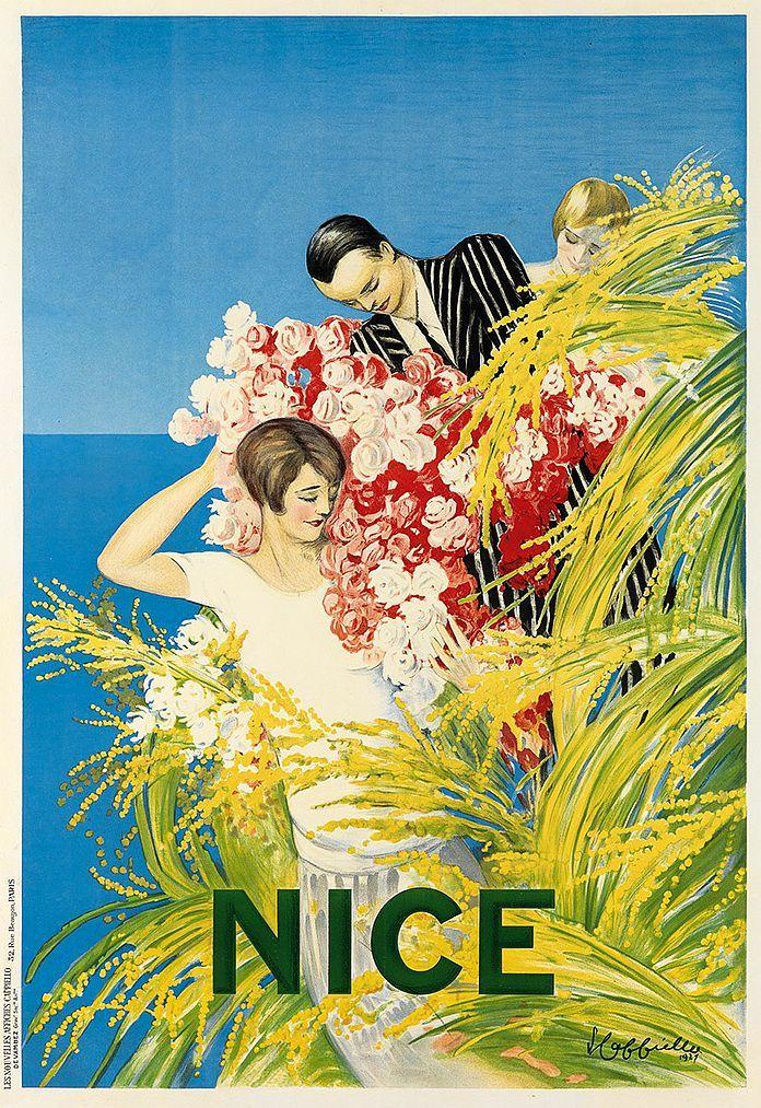 ✨ LEONETTO CAPPIELLO (1875-1942) - NICE. 1927. Devambez, Paris.