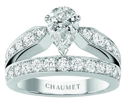Bague fiancaille Chaumet http://www.vogue.fr/mariage/bijoux/diaporama/mariage-bague-de-fiancailles-classiques-diamants/31220#bague-fiancaille-chaumet