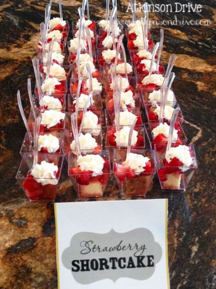 Individual strawberry shortcake cups are a great way to serve a light dessert with friends and family for a Summertime BBQ or 4th of July party!
