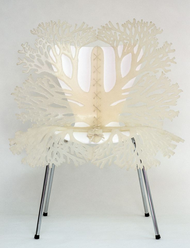 Butterfly Chair By Lisa Jones Sculpture   Symbiosis Chairs Series   Wood,  Steel And Silicone