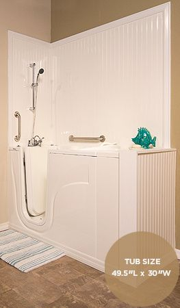 Deep Soaking Tub | Soaker Tub With Shower | Premier Care