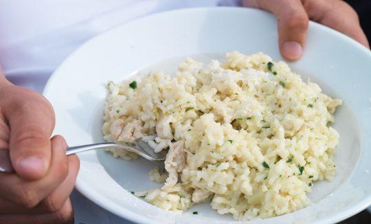 Chicken risotto