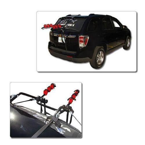 3 Trunk Hatchback Bike Rack, Holds 3 Bicycles Carrier