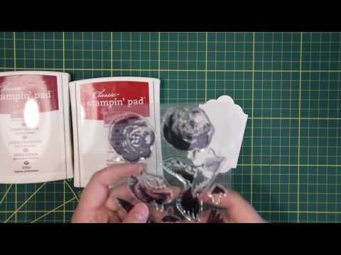 Mini treat bag met roos uit Picture Perfect (Video Vrijdag) - Het Knutsellab - Stampin Up #stampinup #crafts #knutselen #stempelen