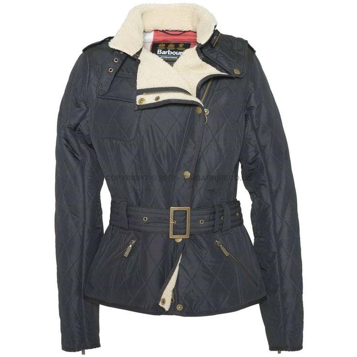 Barbour - Autumn 2014 Barbour International Women's Jacket - Matlock Quilted Jacket in Black