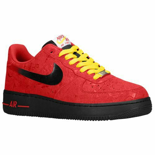 6293ca7c1 Nike Air Force 1 - Low - Men's $89.99 Selected Style: University Red/Tour  Yellow Black Width D: Medium Product #: 882… | Nike Air Force 1 - Low -  Men's ...