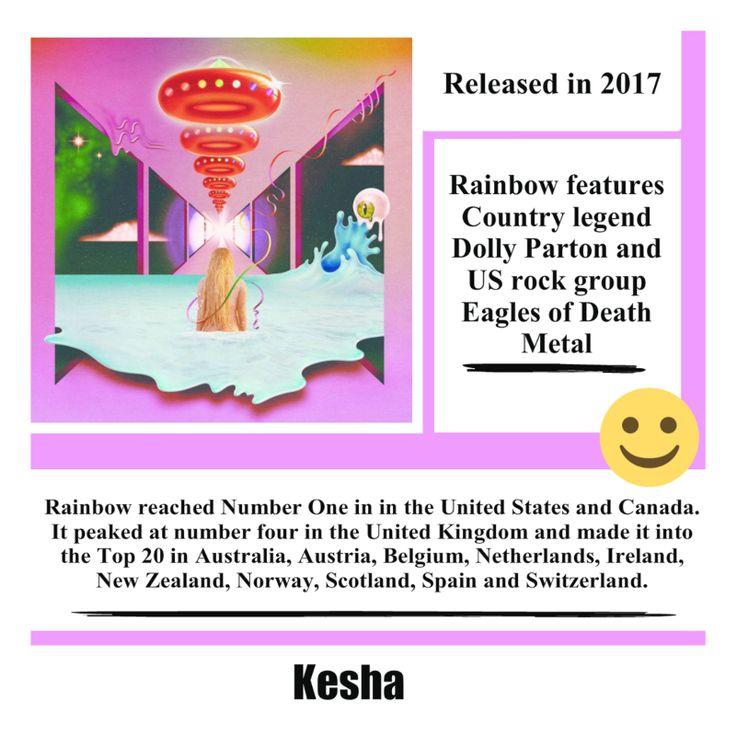 Rainbow Album by Kesha #kesha #rainbow #pop #popmusic #song #music #album #musica #singer #songwriter #video #youtube