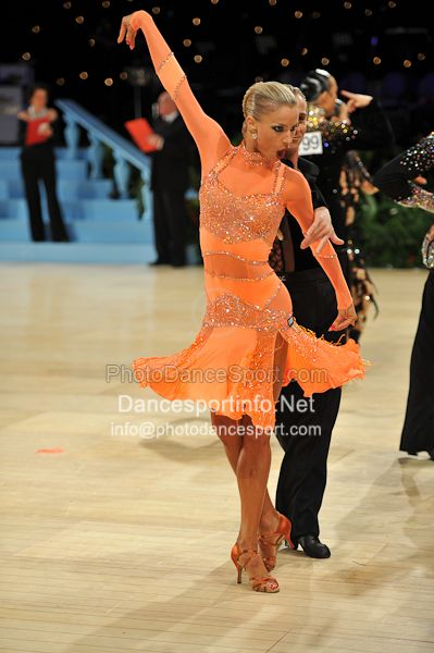 DancesportInfo.net That is definitely a color I could wear (but not afford) GORGEOUS #