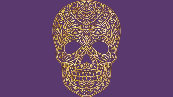 Golden Tribal Skull is a T Shirt designed by griffin45nn9z to illustrate your life and is available at Design By Humans