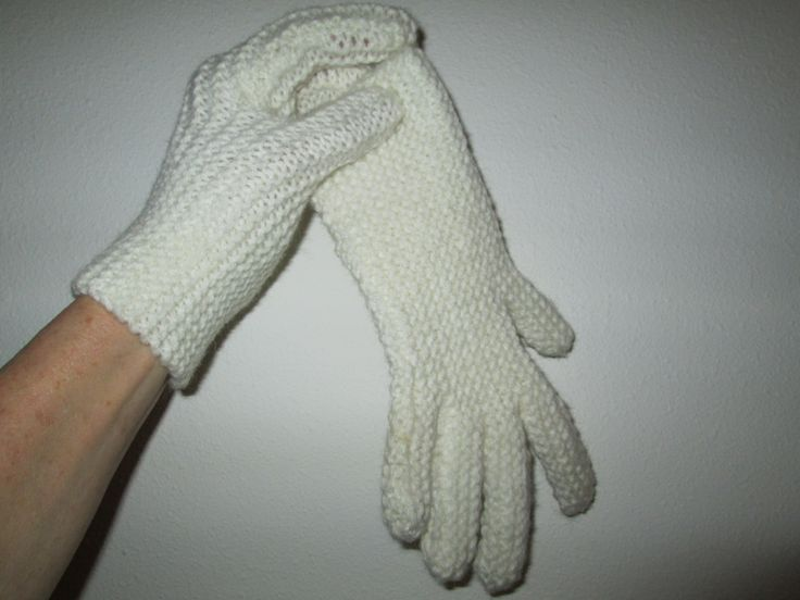 Knitted White Gloves by SuzannesStitches, Womens Knitted Gloves, Hand Knit Gloves, White Gloves, Acrylic Hand Knit Gloves, Steampunk Gloves by SuzannesStitches on Etsy