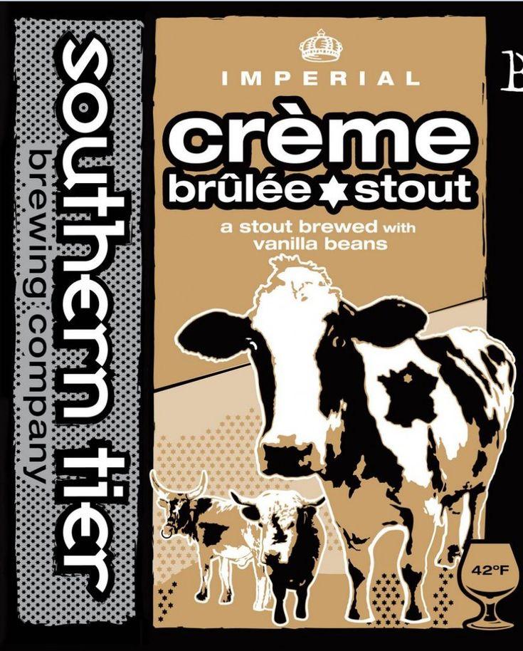 Southern Tier, Creme Brulee Stout.